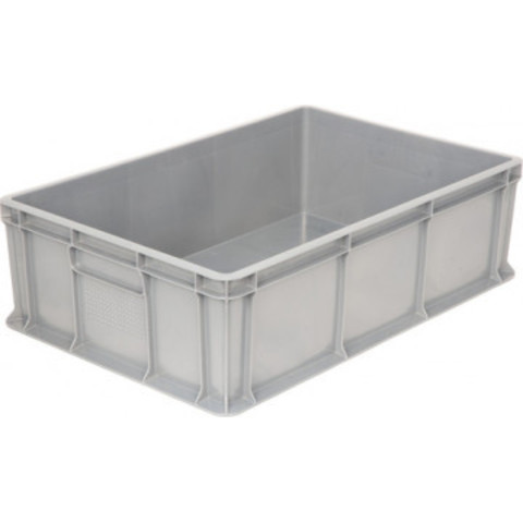 Ящик (лоток) универсальный из ПНД 600х400х180 мм серый