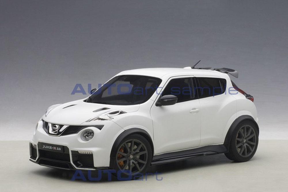 Коллекционная модель NISSAN JUKE R 2.0 2016 WHITE