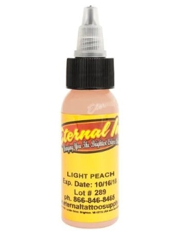 "Краска Eternal ""Light Peach"" для татуировки 1/2 унции - 15 мл"