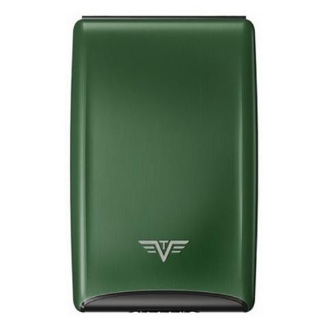 Визитница c защитой Tru Virtu Razor, зеленый , 104x68x20 мм