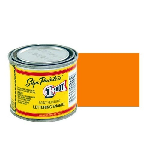 Эмали для пинстрайпинга Эмаль для пинстрайпинга 1 Shot Оранжевый (Orange), 118 мл Orange.jpg