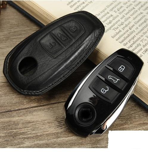 Кожаный чехол для ключа Volkswagen Touareg