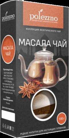 Чай травяной Polezzno Масала, 100 г