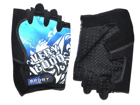 Перчатки для велосипедистов. Материал: синтетическая ткань, сетка.  JZ-3934