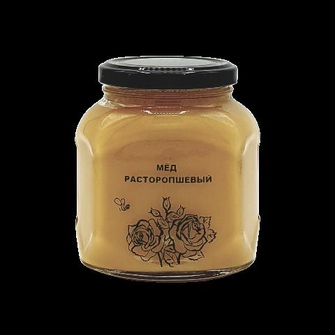 Мёд натуральный РАСТОРОПШЕВЫЙ, 500 гр