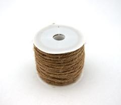 Шнур декоративный, лен 100%, 10 м.