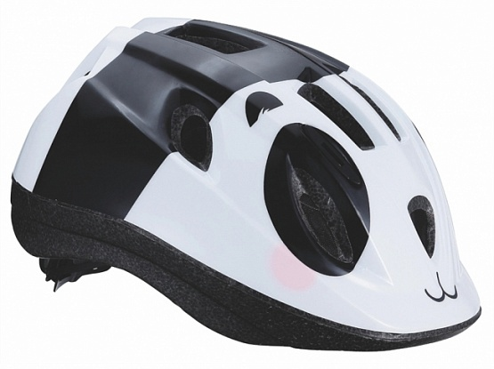 Летний шлем BBB Boogy панда черный/белый