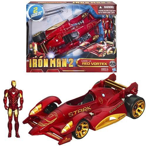 Iron Man 2 - Battle Action Vehicles 2011