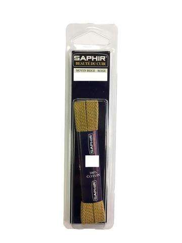 Шнурки 90см. Плоские 8 мм  (7 цветов) SAPHIR