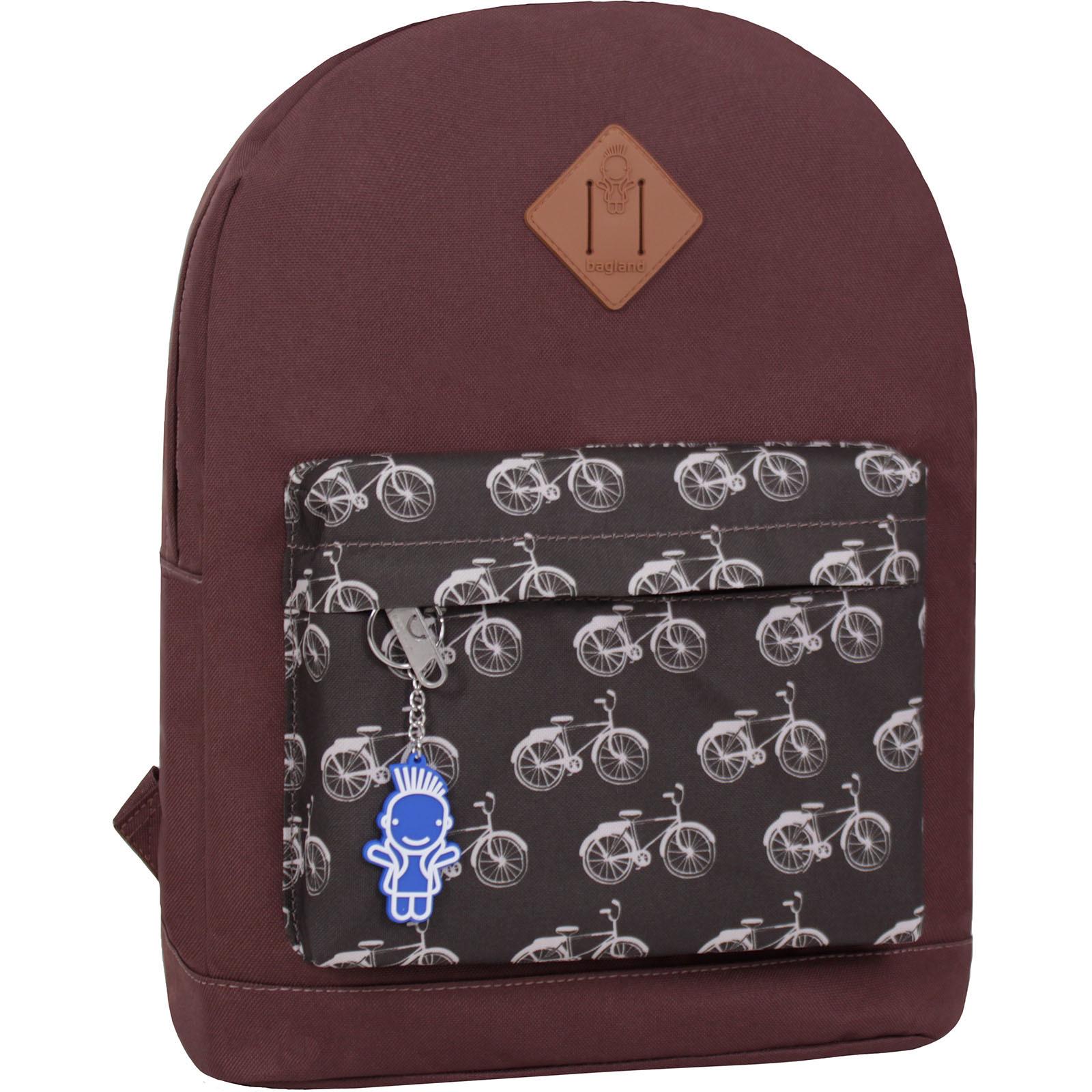 Городские рюкзаки Рюкзак Bagland Молодежный W/R 17 л. коричневый 461 (00533662) IMG_2741_суб.461_.JPG