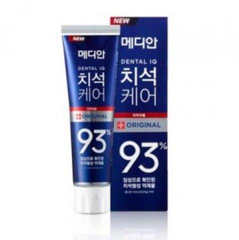 Зубная паста для эффективного удаления зубного налета и профилактики кариеса и воспаления десен Median 93% Original Toothpaste (синяя))