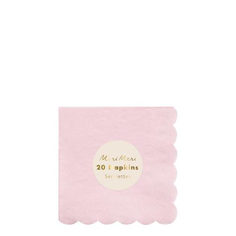 Салфетки розовые
