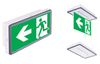 Vella LED eco SO LT может применяться как светодиодный световой указатель или как светильник аварийного освещения