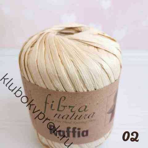 FIBRANATURA RAFFIA 116-02, Светлый соломенный