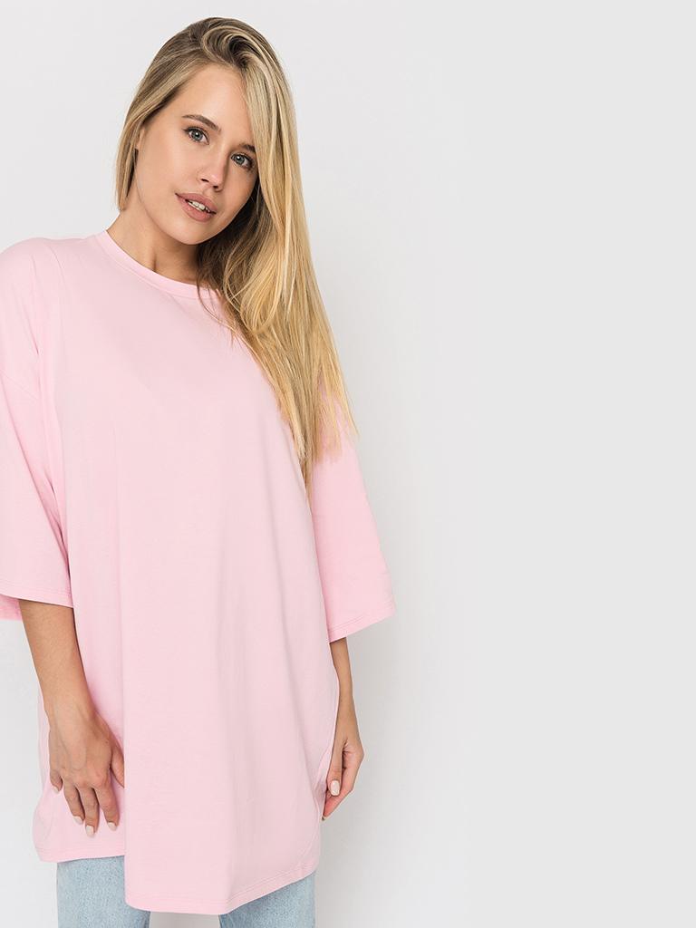 Футболка розовая YOS от украинского бренда Your Own Style