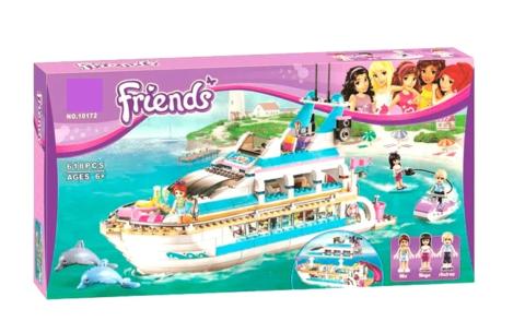 Конструктор Friends 10172 Круизный лайнер