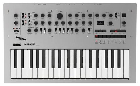 Синтезаторы и рабочие станции Korg Minilogue