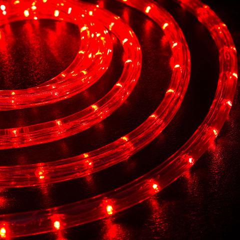 LED 10 метров шланга дюралайт красный цвет набор коннектор в сборе