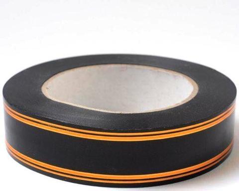 Лента золотая полоса PL (размер: 2 см х 50 ярдов) Цвет: черный