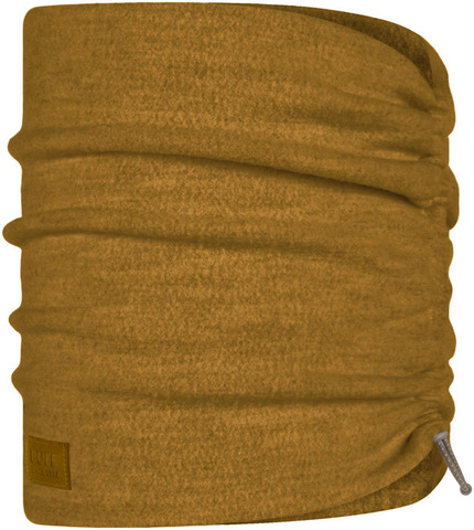 Шарф-труба шерстяной Buff Wool Fleece Ochre фото 1