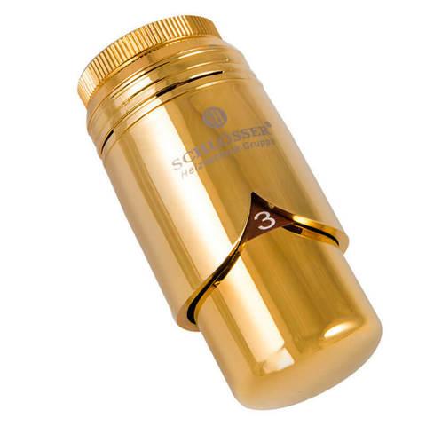 Головка термостатическая BRILLANT Золото M30x1,5 SH