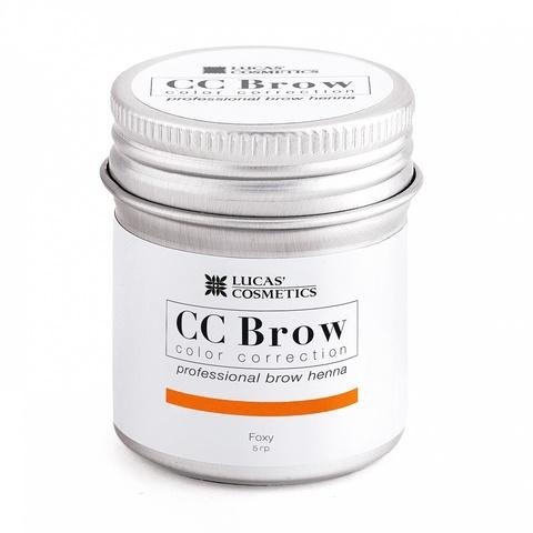 Хна для бровей CC Brow в баночке, 5 гр. Цвет рыжый