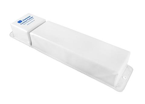 Кранец причальный угловой 760х155 мм, белый