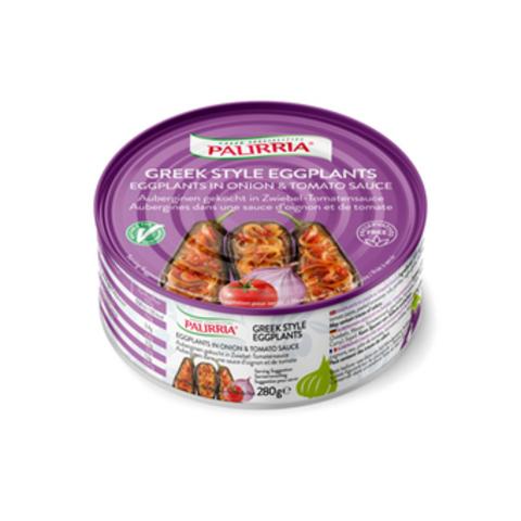 Баклажаны фаршированные в томатном соусе PALIRRIA 280 гр