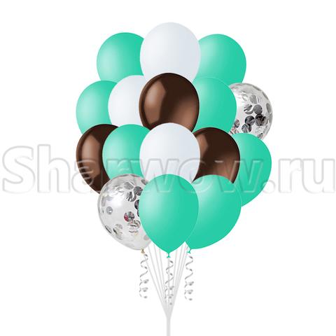 Облако воздушных гелиевых шаров