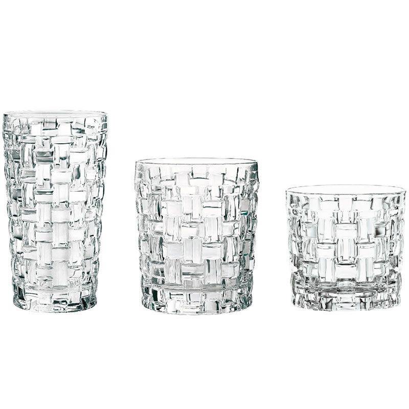 Набор стаканов для воды и виски 18 предметов Bossa Nova Nachtmann