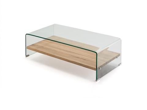 Журнальный столик Sonama стекло/меламин