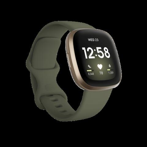Fitbit Versa 3 зеленый