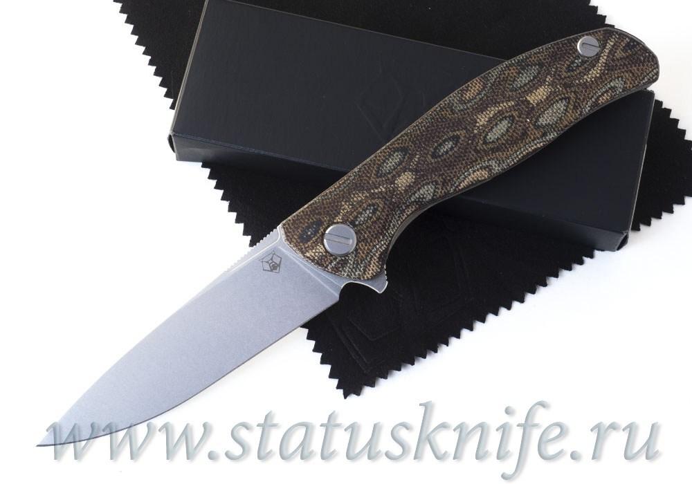 Нож Широгоров Ф3 RWL 34 Микарта Питон 3D подшипники