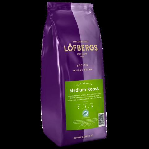Кофе в зёрнах   Lofbergs Medium Roast