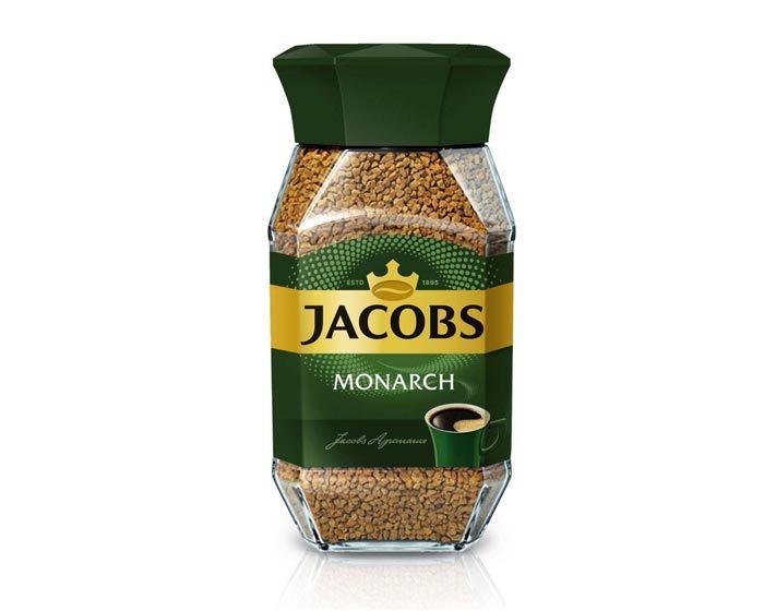 Кофе растворимый Jacobs Monarch, 190 г