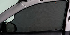Каркасные  автошторки на магнитах для ACURA MDX 3 (2013+). Комплект на передние двери с вырезами под курение с 2 сторон