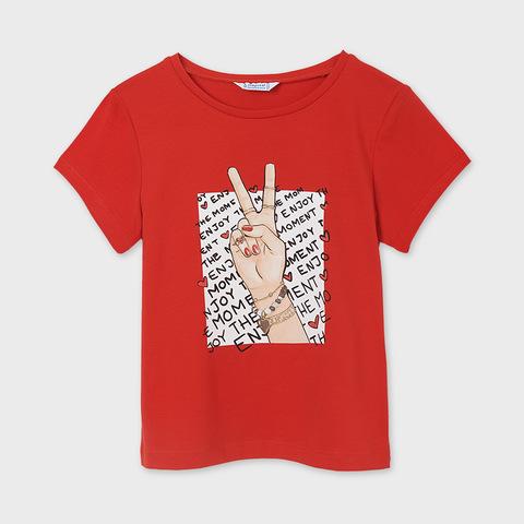 Базовая футболка для девочки