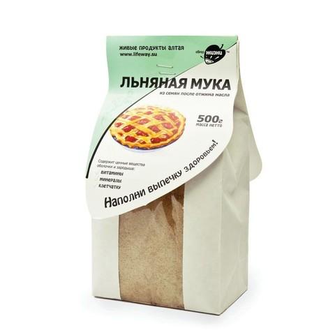 Мука Льняная, 500 гр. (Образ жизни)