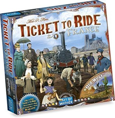 Ticket to Ride - France & Old West: Map Collection