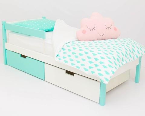 Кровать SKOGEN мятно-белый