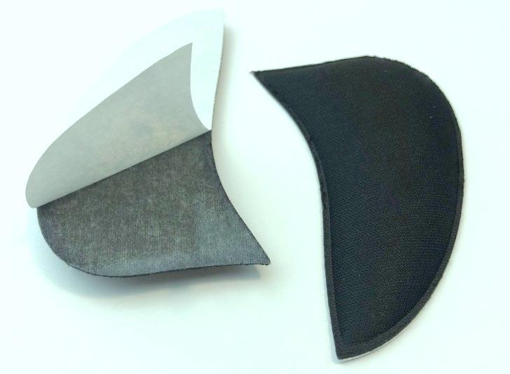 Тканевые пелоты под продольный свод стопы на клеевой основе
