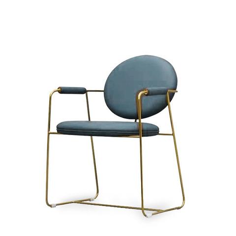 Стул-кресло Gemma by Baxter (голубой)