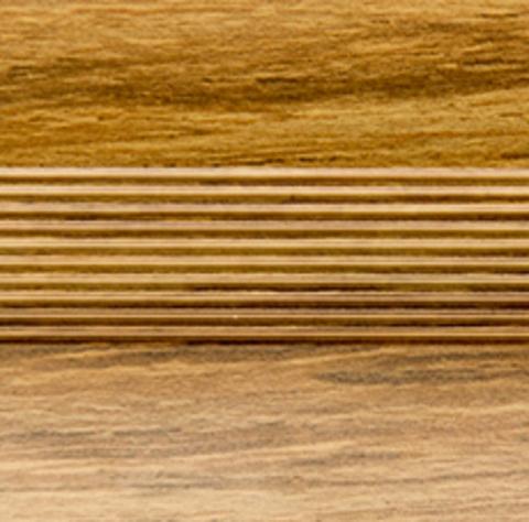 Русский профиль Стык с дюбелем 35мм 1,8 дуб эдельвейс