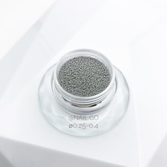 Бульонки серебро 0,25-0,4мм