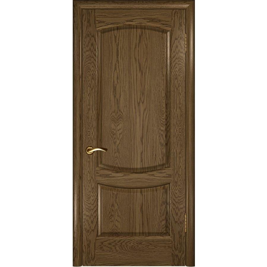 Шпонированные двери Межкомнатная дверь шпон Luxor Лаура 2 светлый морёный дуб глухая laura-2-dg-svetliy-dub-moreniy-dvertsov.jpg