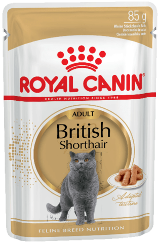 Корм для кошек Royal Canin British Shorthair Adult (в соусе) 85 г