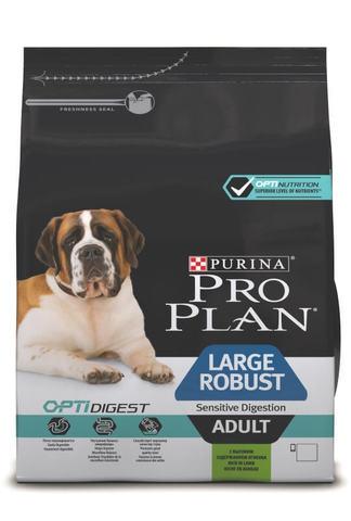 Сухой корм Purina Pro Plan для собак крупных пород с мощным телосложением с чувствительным пищеварением, ягнёнок