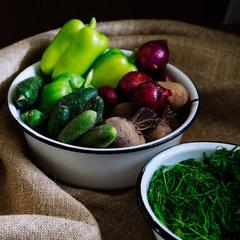 Корзина продуктов БОЛЬШАЯ (вегетарианская)