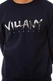 Свитшот Villany темно-синий фото 2