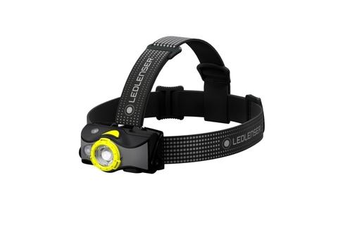Фонарь светодиодный налобный LED Lenser MH7, черно-желтый, 600 лм